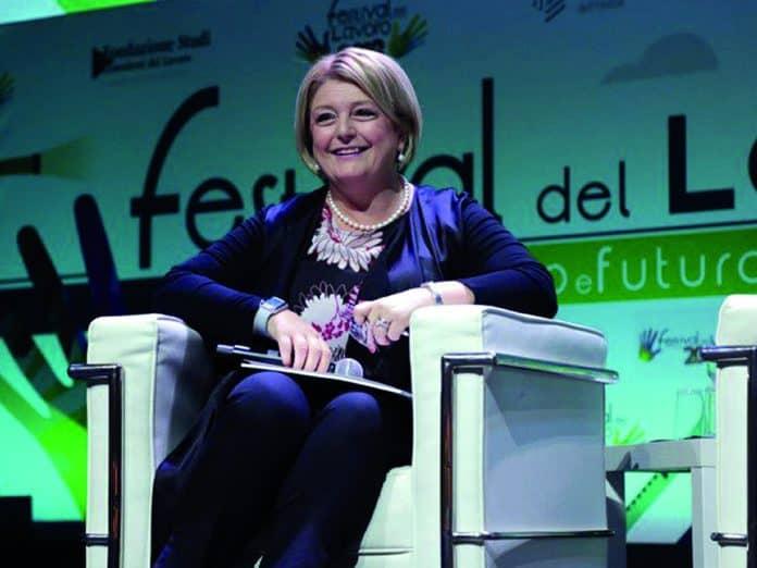 Marina Calderone, Presidente del Consiglio Nazionale dell'Ordine dei Consulenti del Lavoro.